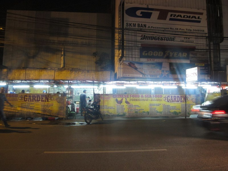 Night Market Ala Jakarta Wisata Kuliner Pecenongan Cybersulutnews Kota Administrasi