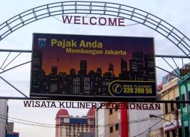Wisata Jakarta Sawisatas Kawasan Kuliner Pecenongan Kota Administrasi Pusat