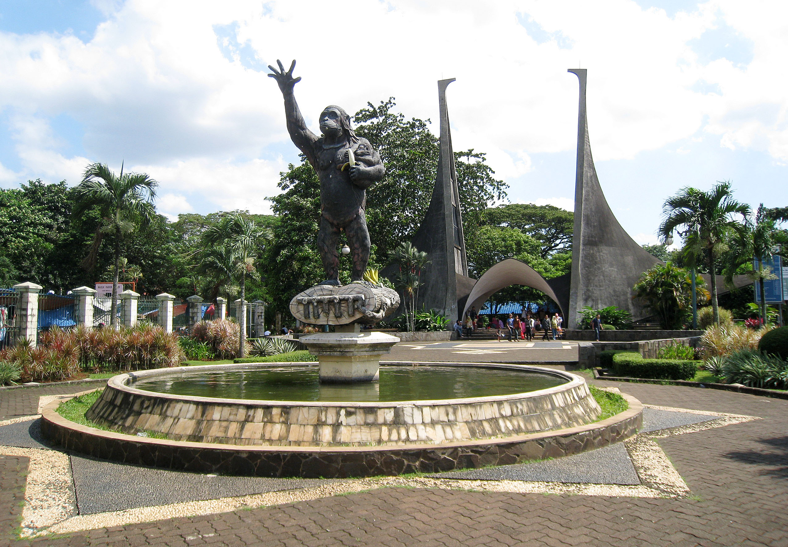 Kebun Binatang Ragunan Wikipedia Bahasa Indonesia Ensiklopedia Bebas Kota Administrasi