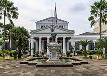 Jakarta Wikipedia National Museum Indonesia Central Musium Satria Mandala Kota