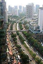 South Jakarta Wikivividly Jalanjenderalsudirmanjakarta Jpg Musium Satria Mandala Kota Administrasi