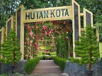 10 Hutan Kota Indonesia Trenggalek Tulungagung Jambi Depok Signage Pintu