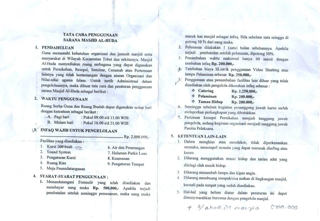 Balada Kewong Episode 1 Mencari Gedung Kawinan Ketigah Aula Masjid