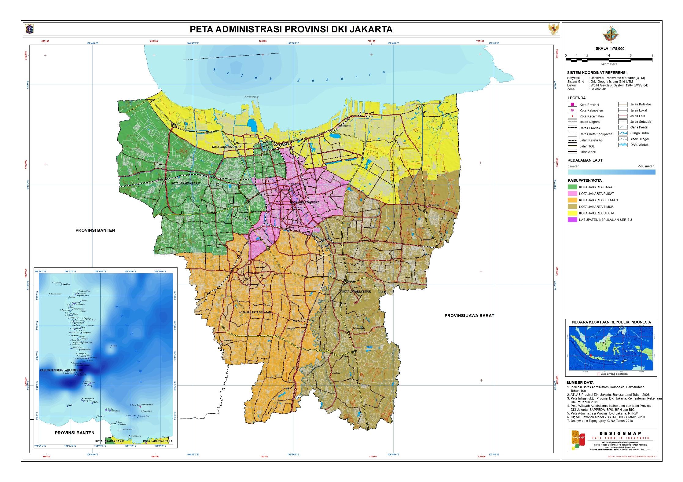 Catatan Kuliah Analisis Geografi Regional Dki Jakarta Taman Hutan Tebet