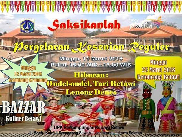 Jakarta Tourism Instagram Profile Official Source Tourism2 Days Taman Spathodea