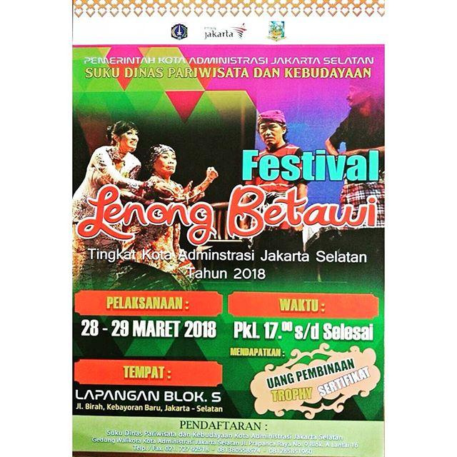Jakarta Tourism Instagram Profile Official Source Tourism5 Days Festival Lenong