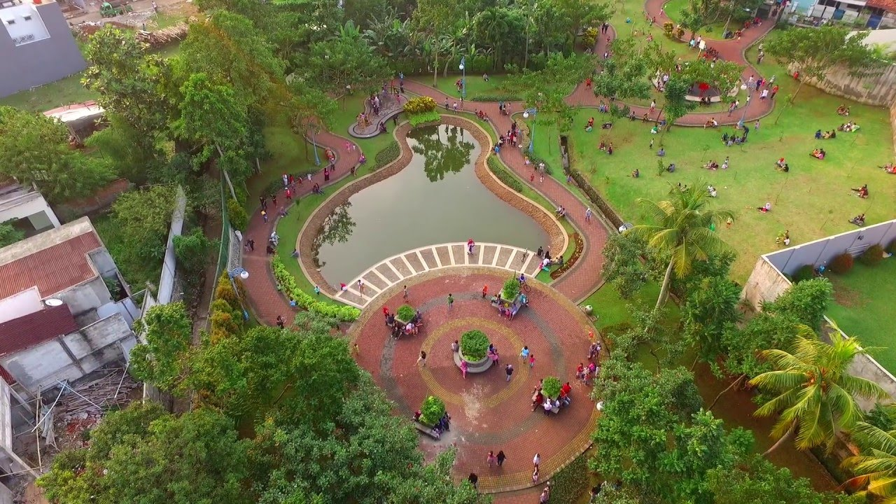 Taman Spathodea Kebagusan Jakarta Selatan Youtube Kota Administrasi