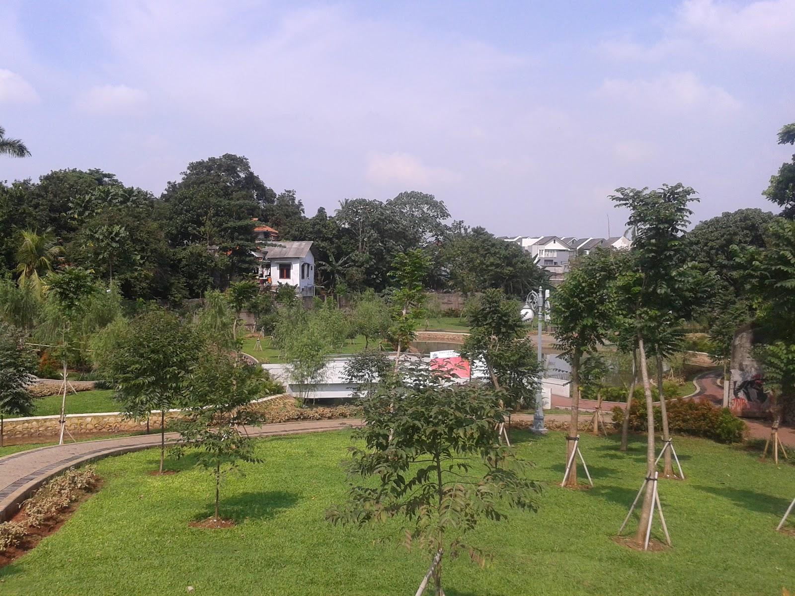 Taman Spathodea Oase Tengah Perkotaan World Rth Solusi Mengurangi Dampak