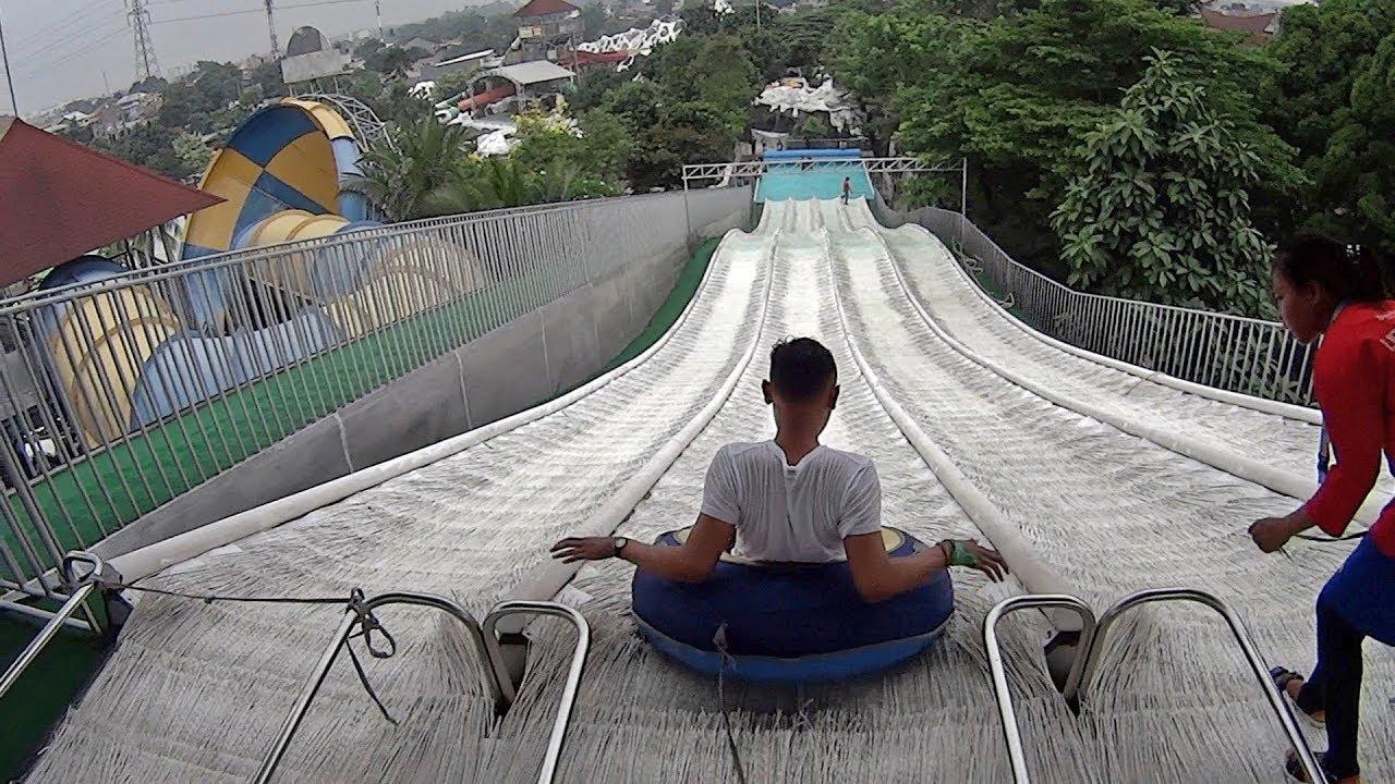 Everslide Water Slide Snowbay Waterpark Youtube Kota Administrasi Jakarta Timur