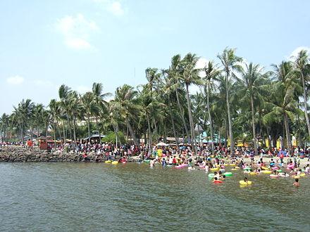 Jakarta Wikiwand Ancol Beach Alive Museum Kota Administrasi Utara