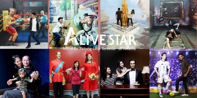 Tiket Alive Museum Ancol Cari Star Kota Administrasi Jakarta Utara