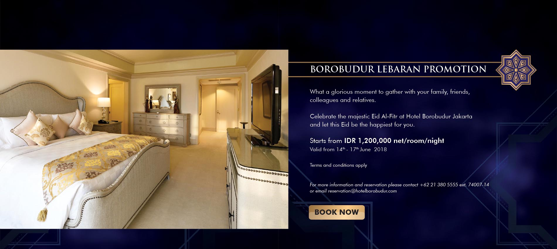 Home Luxury Borobudur Hotel Jakarta Discovery Hotels Resorts Previous Dunia
