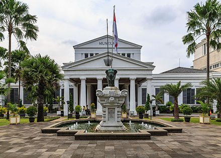 Jakarta Wikiwand National Museum Indonesia Central Dunia Air Ancpl Kota