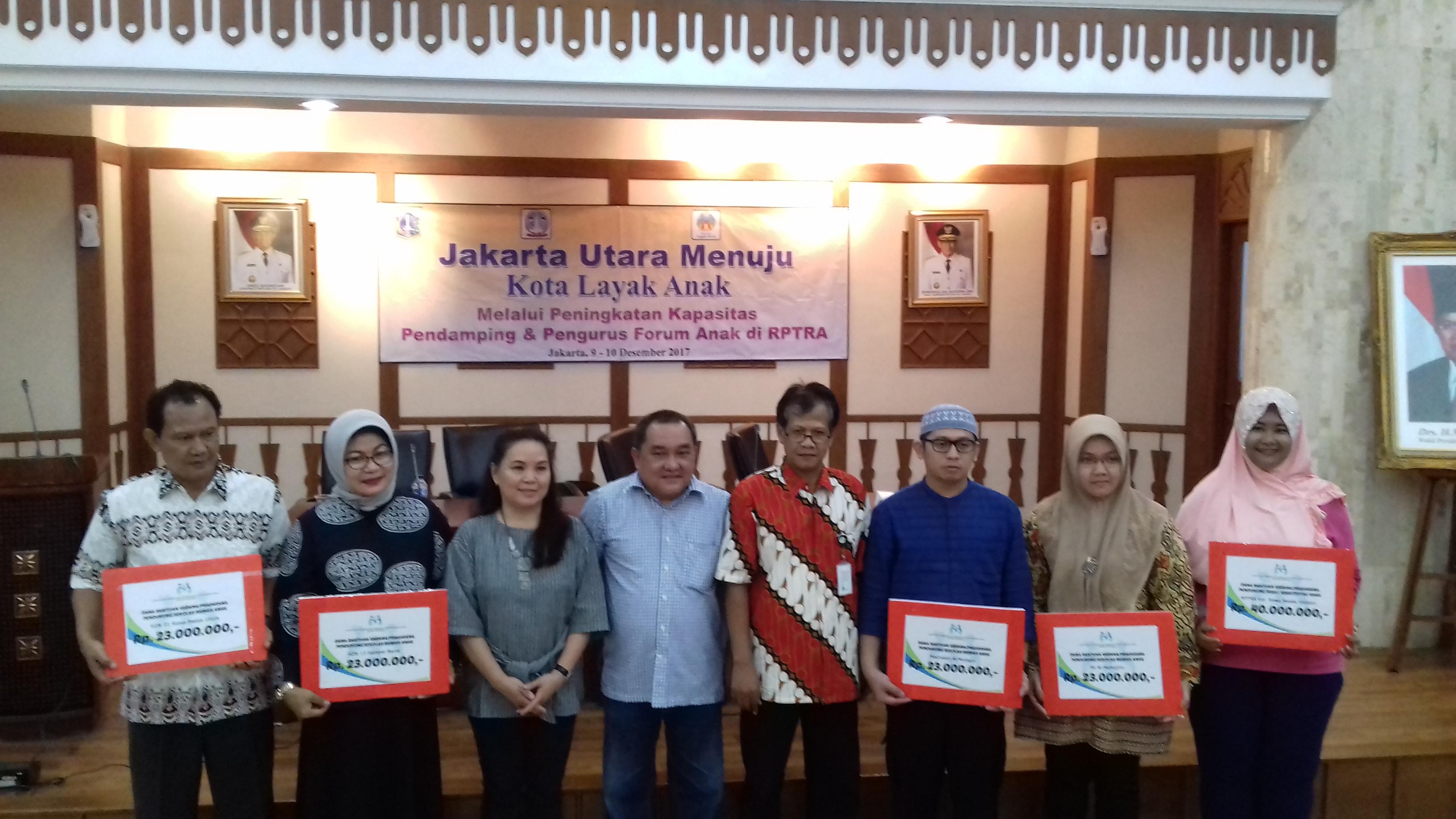 Jakut Gelar Peningkatan Kapasitas Pendampingan Pengurus Forum Anak Jakarta Utara