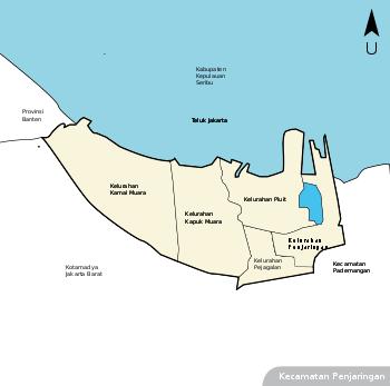 Penjaringan Jakarta Utara Wikipedia Bahasa Indonesia Negara Provinsi Kota Dunia