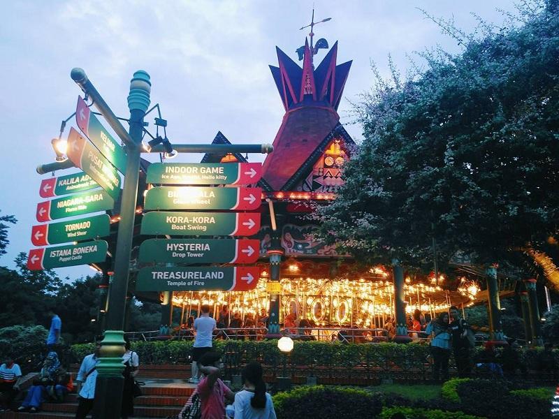 10 Tempat Wisata Jakarta Eksis Kamu Dunia Fantasi Ancol Dufan