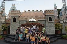 Ancol Dreamland Wikipedia Dunia Fantasi Fantasy World Edit Dufan Kota
