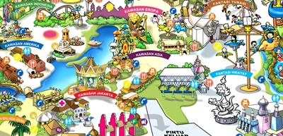 Berbagai Tempat Wisata Mei 2015 Wahana Favorit Dufan Menjadi Idola