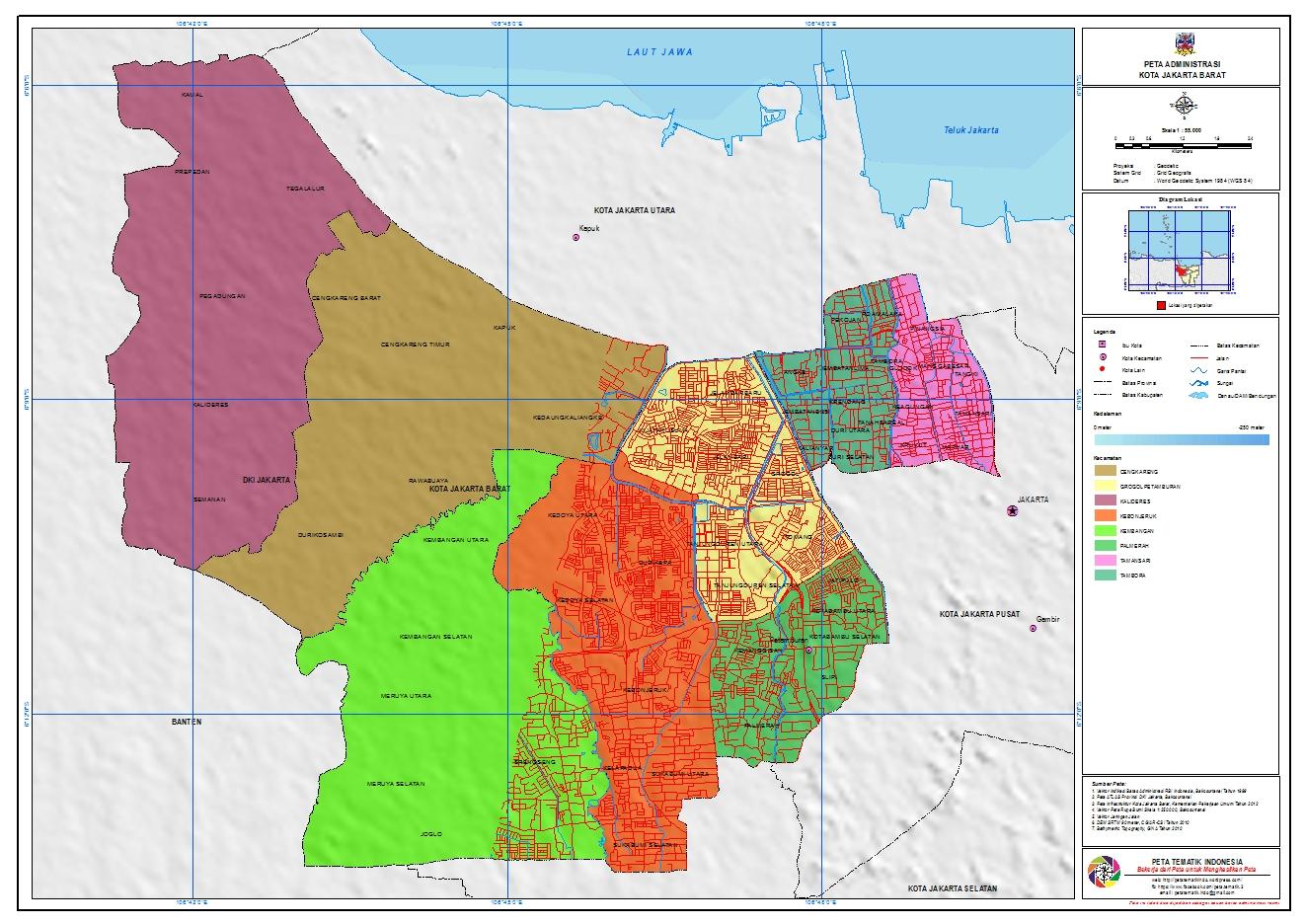 Kota Administrasi Jakarta Barat Infonusa Wordpress Kepulauan Seribu Utara