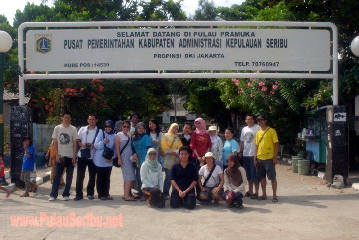 Pemda Jakarta Utara Tita Cs Pulau Harapan Pramuka Kepulauan Seribu