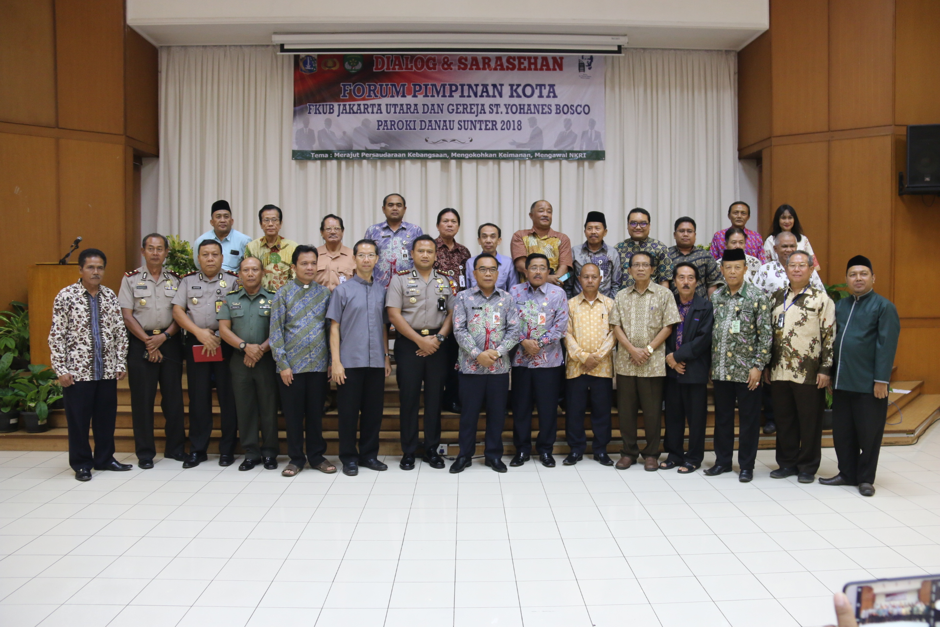 Pemerintah Kota Administrasi Jakarta Utara Jelang Bulan Ramadhan Fok Gelar