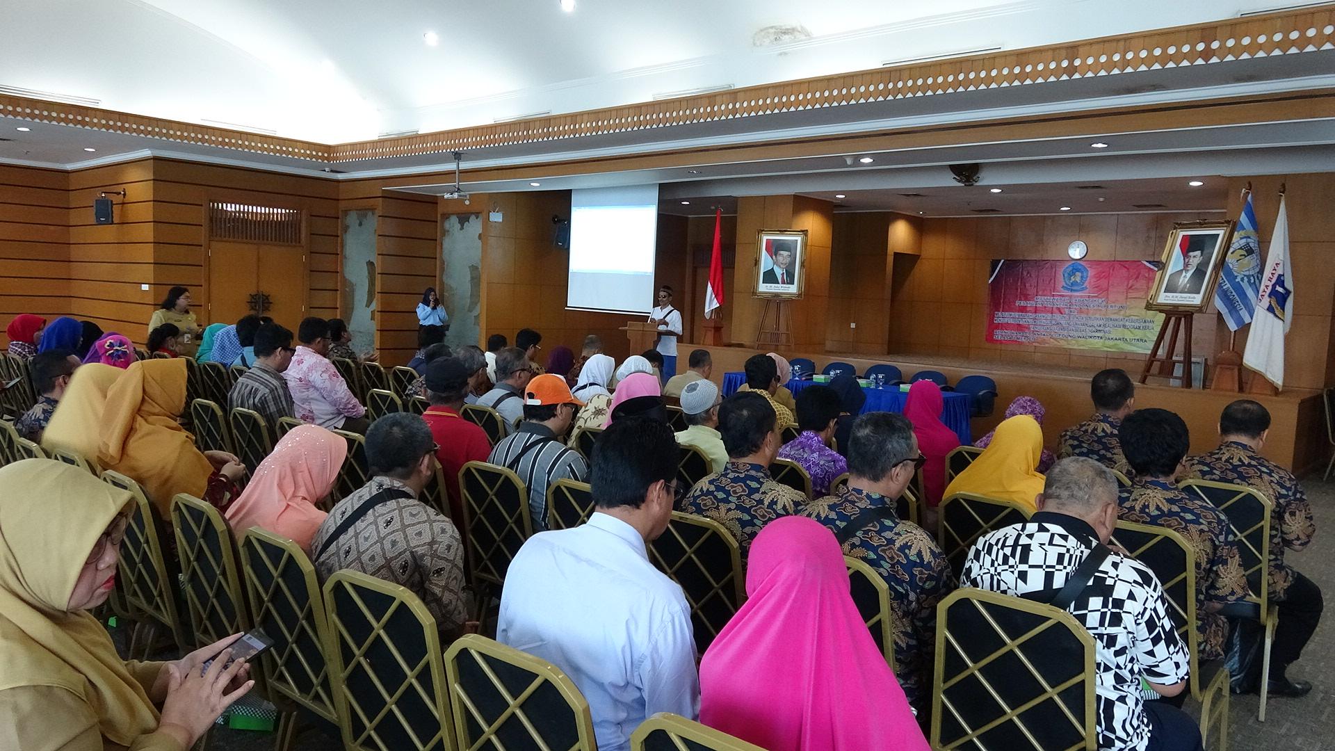 Pemerintah Kota Administrasi Jakarta Utara Pertuni Gelar Muscab Iv Kantor