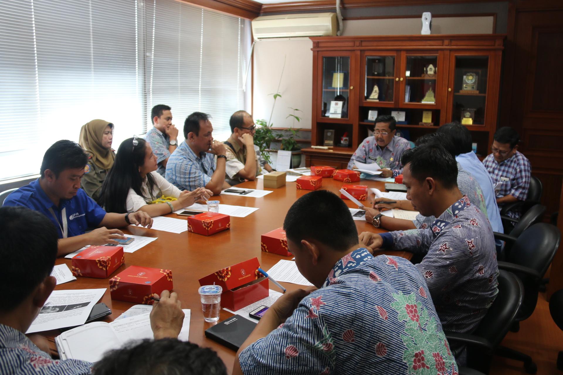 Pemerintah Kota Administrasi Jakarta Utara Wakil Coret Perusahaan Tidak Penuhi