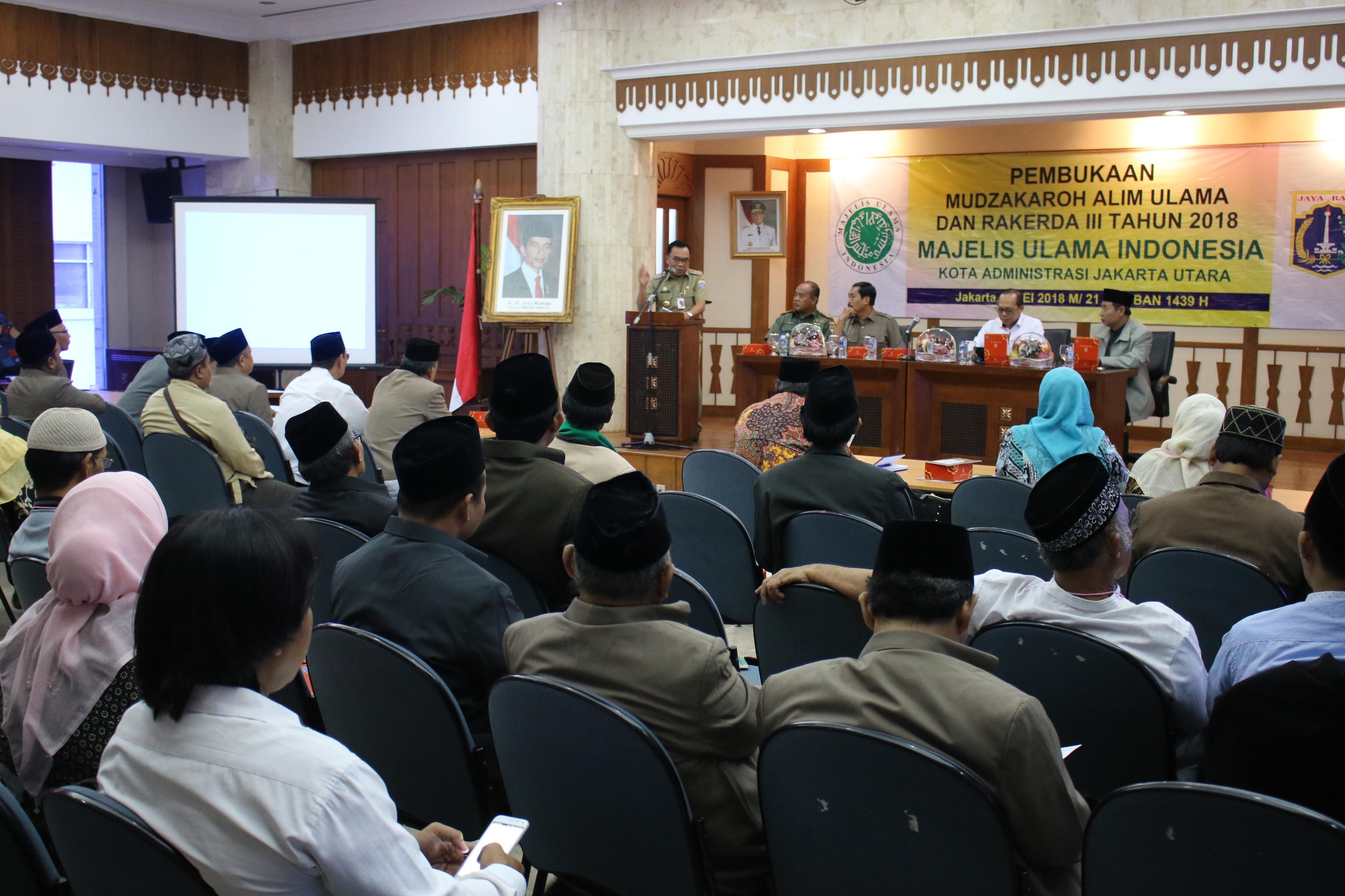 Pemerintah Kota Administrasi Jakarta Utara Walikota 1 3 Juta Warga