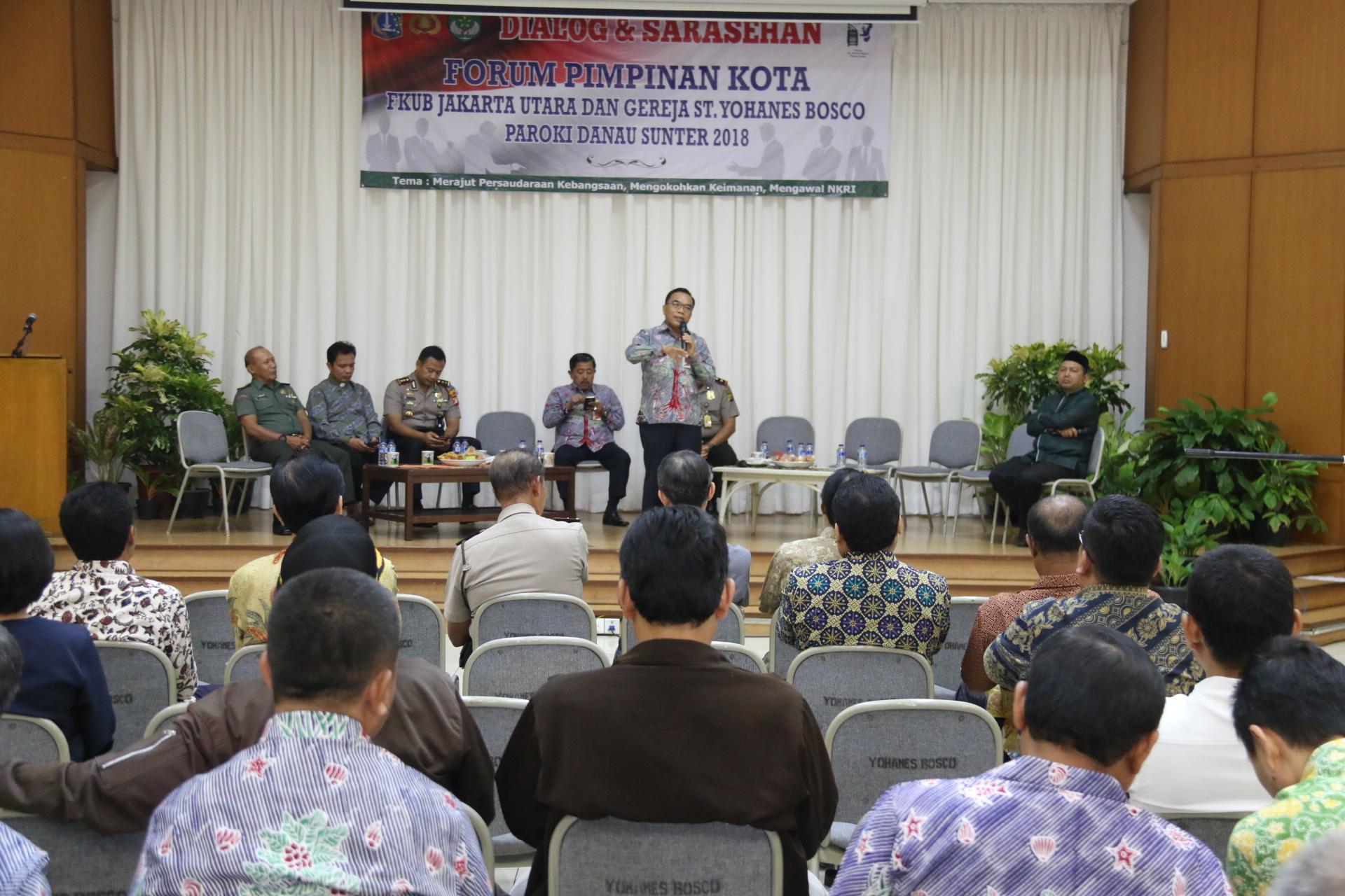 Pemerintah Kota Administrasi Jakarta Utara Walikota Keadilan Buat Umat Kepulauan
