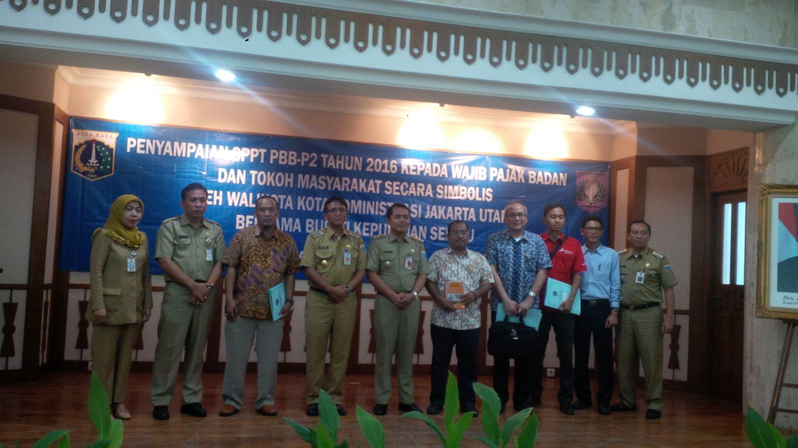 Penyampaian Sppt Pbb Walikota Utara Kabupaten Kepulauan Penyerahan P2 Tingkat