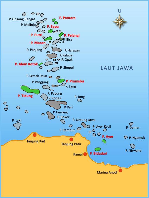Profil Wilayah Pemerintah Kabupaten Administrasi Kepulauan Seribu Kota Jakarta Utara