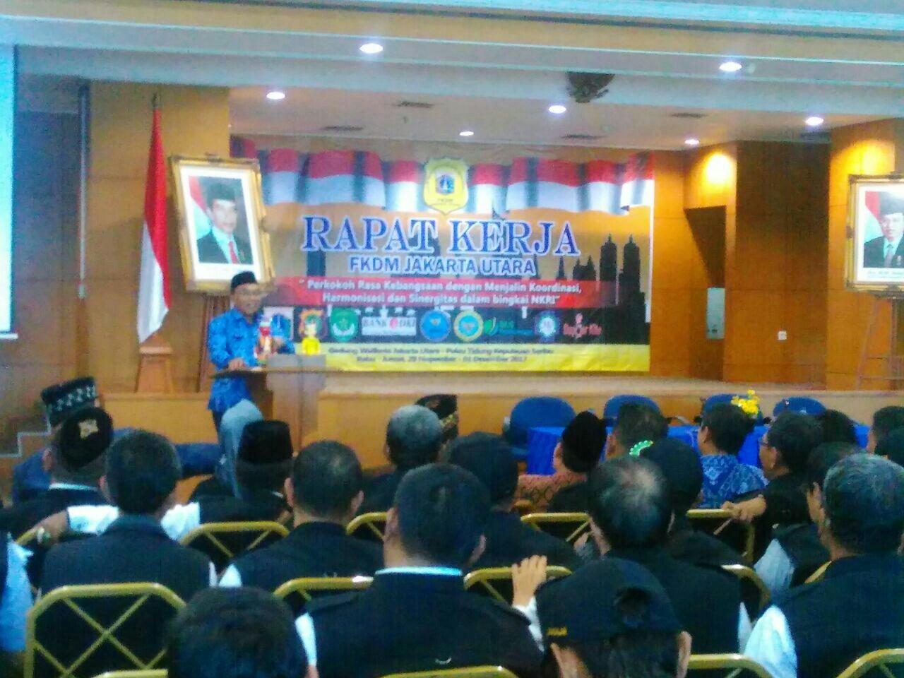 Rapat Kerja Fkdm Kota Administrasi Jakarta Utara Sukapura Kewaspadaan Dini