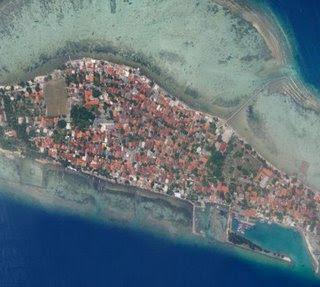 Selayang Pandang Kepulauan Seribu Pulau Tidung Foto Atas Kota Administrasi