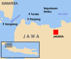 Wilayah Pentadbiran Kepulauan Seribu Wikipedia Bahasa Melayu Lambang Kabupaten Administrasi