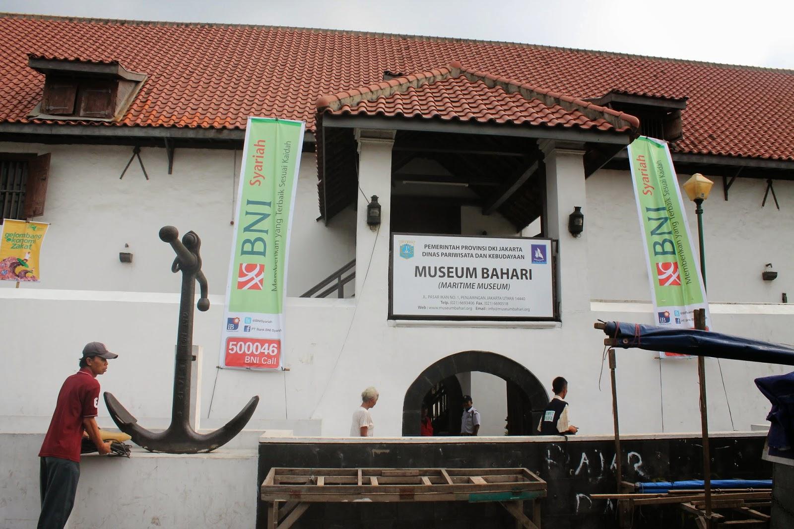 60 Museum Jakarta Bahari Utara Bagi Menikmati Nuansa Pesisir Kebaharian