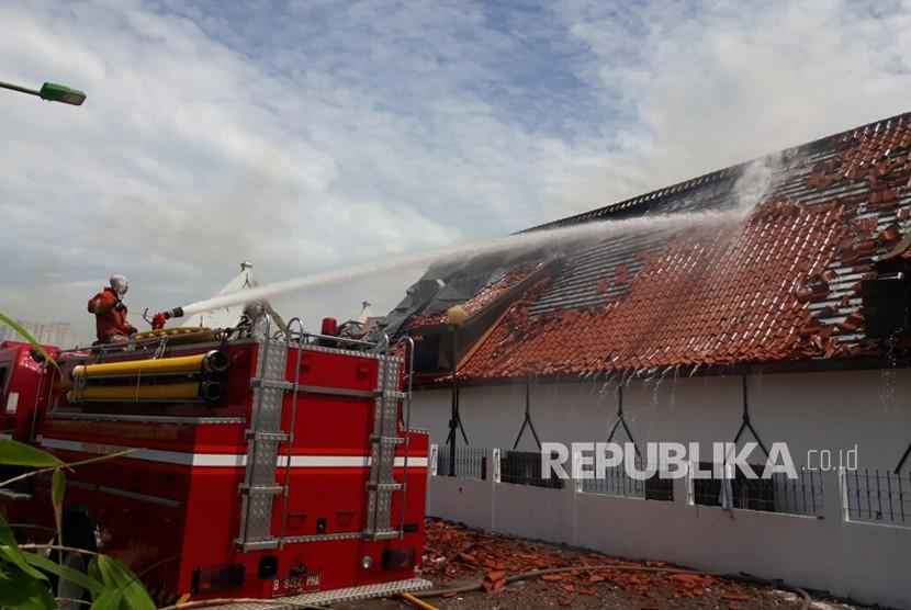 Benda Bersejarah Museum Bahari Musnah Dilumat Api Republika Online Kebakaran