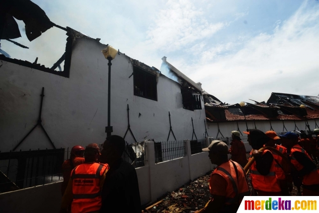 Foto Museum Bahari Ludes Dilalap Jago Merah Merdeka Petugas Pemadam