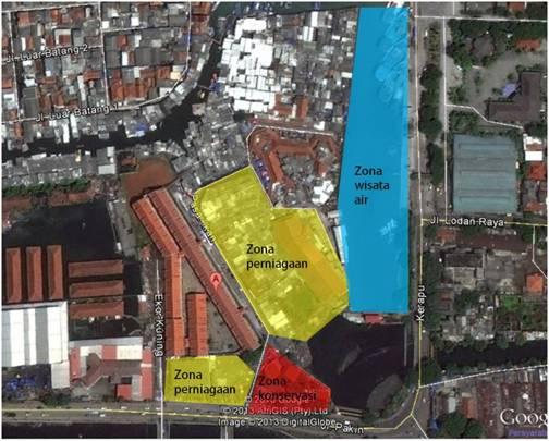 Konservasi Arsitektur Museum Bahari Jakarta Architectural Gambar 3 Zoning Bangunan