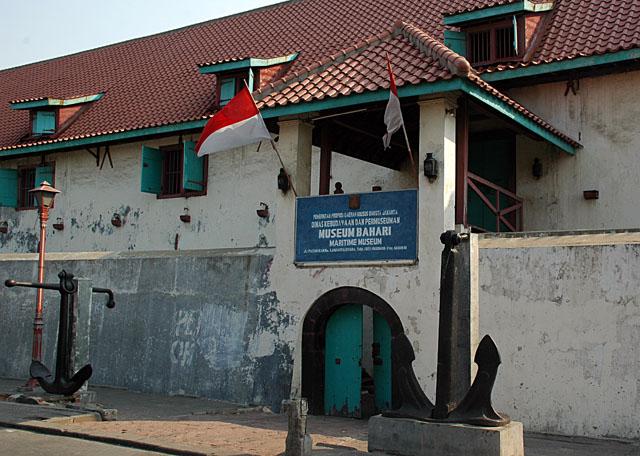 Museum Bahari Maritime Jakarta Cityseeker Musium Kota Administrasi Utara