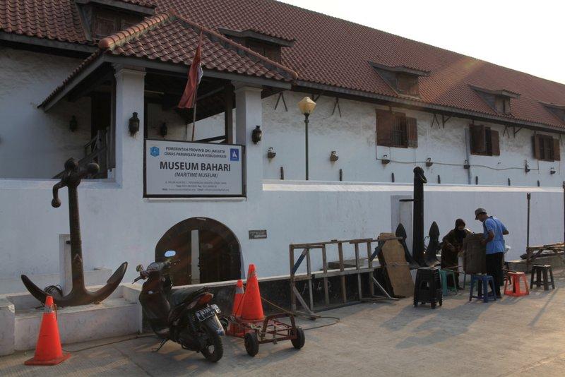 Museum Bahari Maritime Jakarta Jakarta100bars Nightlife Musium Kota Administrasi Utara