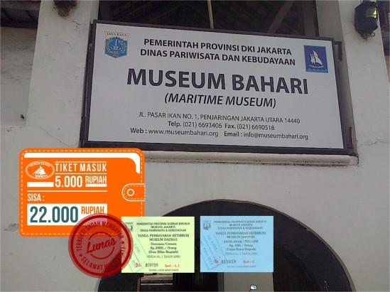 Museum Bahari Muda Grafika Jakarta Esotis 35 Musium Kota Administrasi