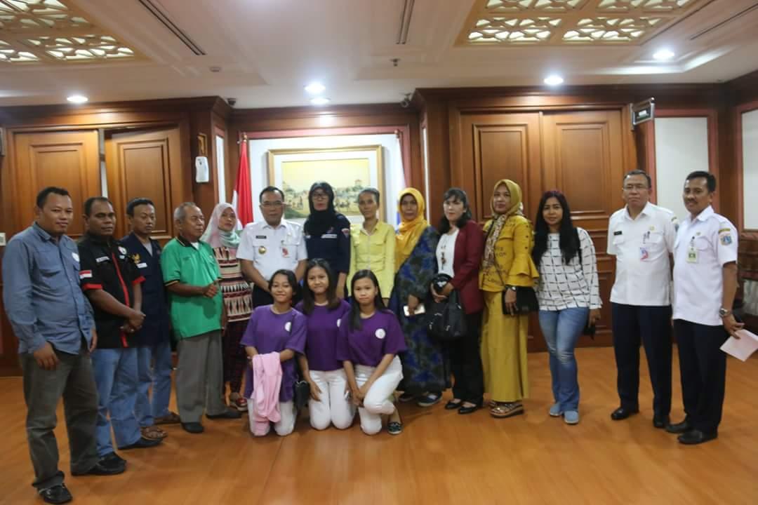 Pemerintah Kota Administrasi Jakarta Utara Walikota Ormas Sentuh Kebutuhan Masyarakat