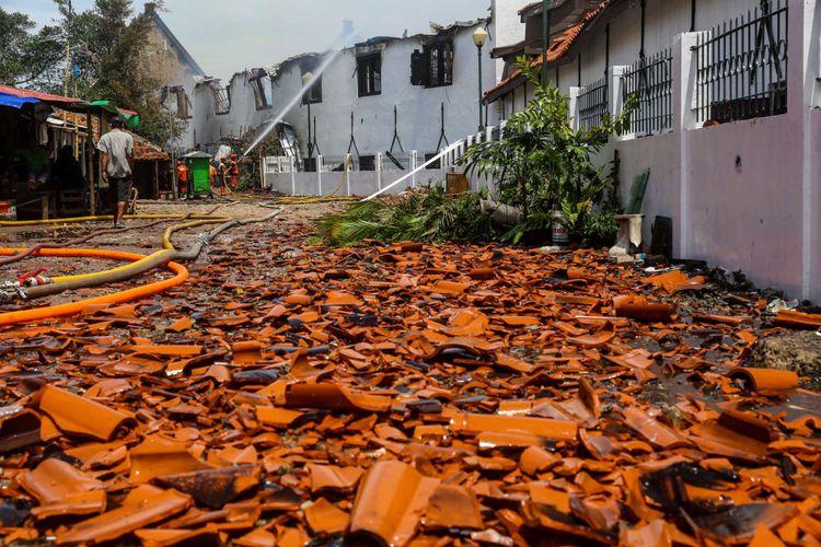 Polisi Periksa Dua Saksi Terkait Kebakaran Museum Bahari Kompas Petugas