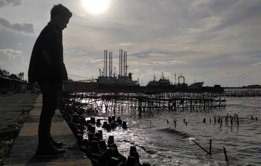 17 Tempat Wisata Jakarta Utara Hits Dikunjungi Pantai Marunda Ocean