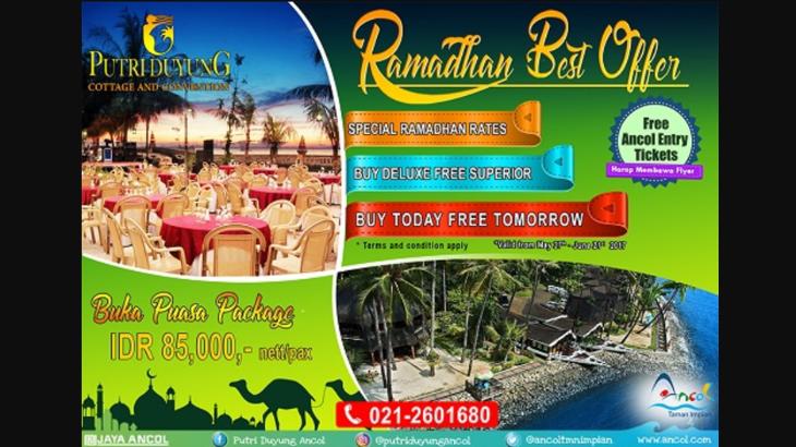 4 Ramadan Wahana Hingga Tol Merahputih Putri Duyung Ancol Tawarkan