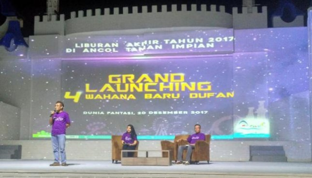 Akhir Dufan Hadirkan Empat Wahana Terbaru Pt Pembangunan Jaya Ancol