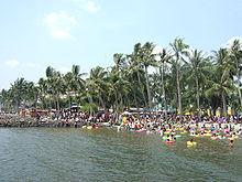Ancol Dreamland Wikipedia Beaches Edit Ocean Dream Kota Administrasi Jakarta
