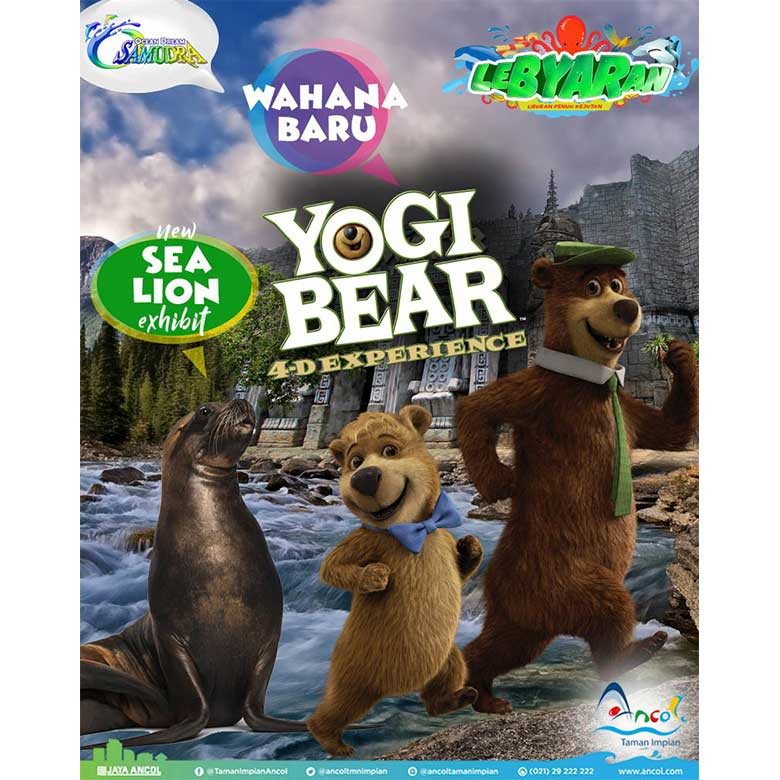 Bear Singa Laut Meriahkan Liburan Ancol Yogi Ocean Dream Kota