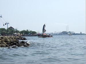 North Jakarta Wikivividly Sailboat Bay Jpg Ocean Dream Ancol Kota