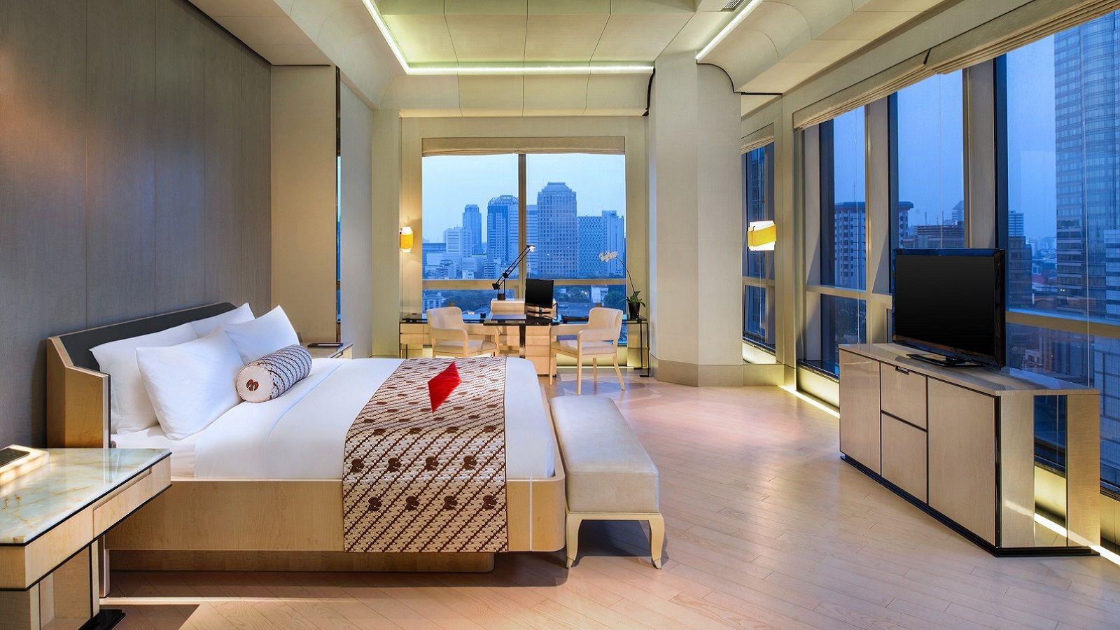 Unrivalled Luxury Central Jakarta Keraton Plaza Club Junior Suite Ocean